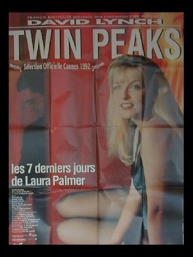Affiche du film TWIN PEAKS