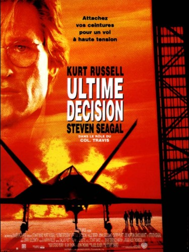 Affiche du film ULTIME DECISION - EXECUTIVE DECISION