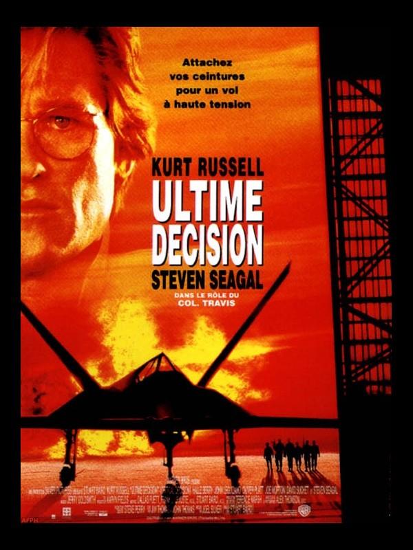 Affiche du film ULTIME DECISION - EXECUTIVE DECISION