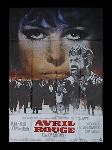 Affiche du film AVRIL ROUGE - DAYS OF FURY