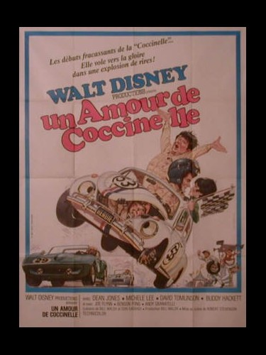 Affiche du film UN AMOUR DE COCCINELLE - THE LOVE BUG