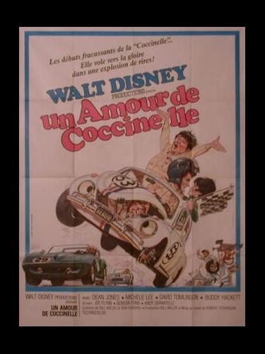 Affiche du film UN AMOUR DE COCCINELLE - THE LOVE BUG