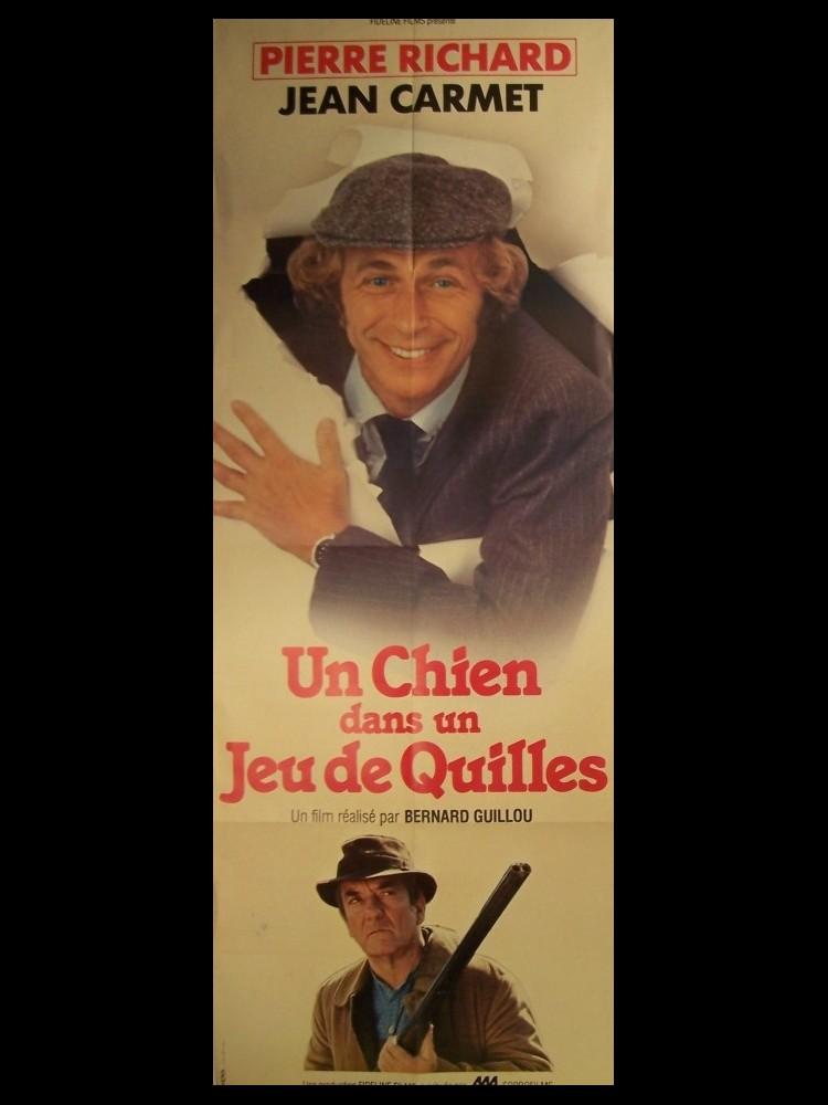Affiche du film UN CHIEN DANS UN JEU DE QUILLES - CINEMAFFICHE