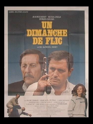 Affiche du film UN DIMANCHE DE FLIC