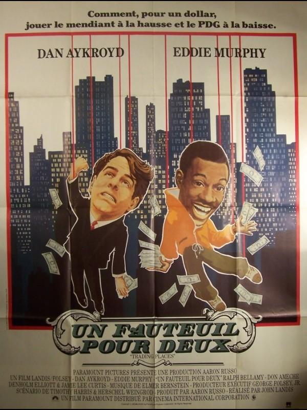 Affiche du film UN FAUTEUIL POUR DEUX - TRADING PLACES