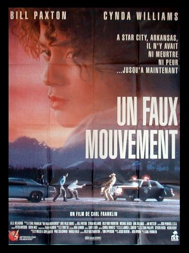 Affiche du film UN FAUX MOUVEMENT - ONE FALSE MOVE