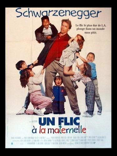 Affiche du film UN FLIC A LA MATERNELLE - KINDERGARTEN COP