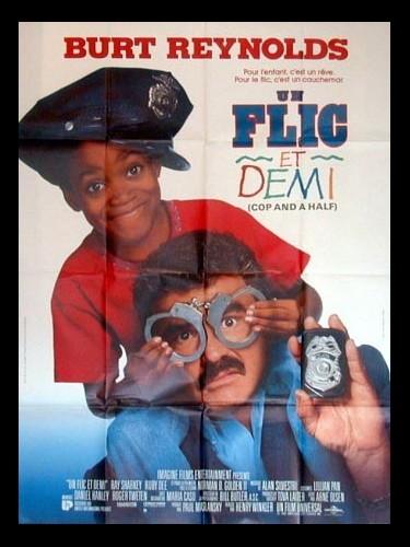 Affiche du film UN FLIC ET DEMI - COPS & 1/2