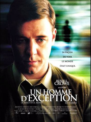Affiche du film UN HOMME D'EXCEPTION - A BEAUTIFUL MAN