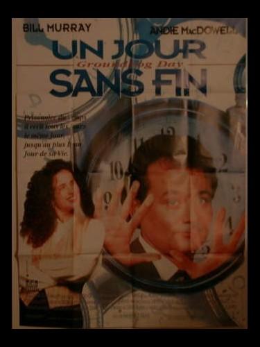 Affiche du film UN JOUR SANS FIN - GROUNDHOG DAY