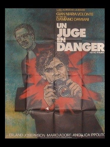 Affiche du film UN JUGE EN DANGER