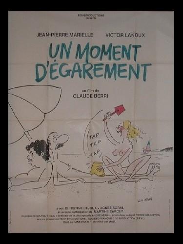 Affiche du film UN MOMENT D'EGAREMENT