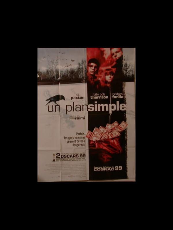 Affiche du film UN PLAN SIMPLE - A SIMPLE PLAN
