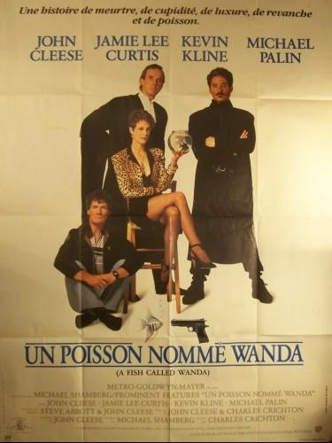 Affiche du film UN POISSON NOMME WANDA