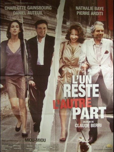 Affiche du film UN RESTE L'AUTRE PART (L')