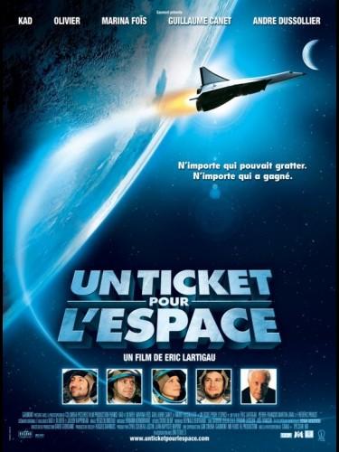 Affiche du film UN TICKET POUR L'ESPACE