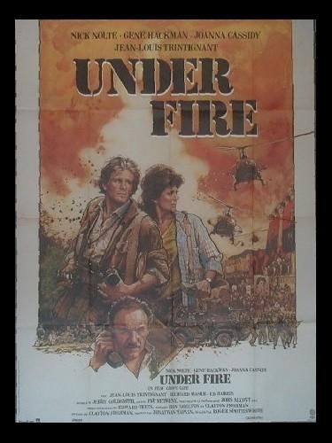 Affiche du film UNDER FIRE