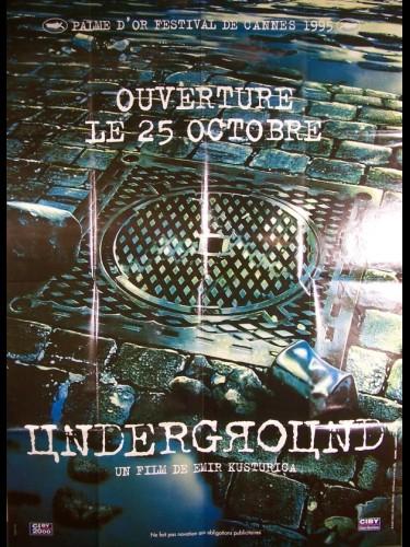 Affiche du film UNDERGROUND