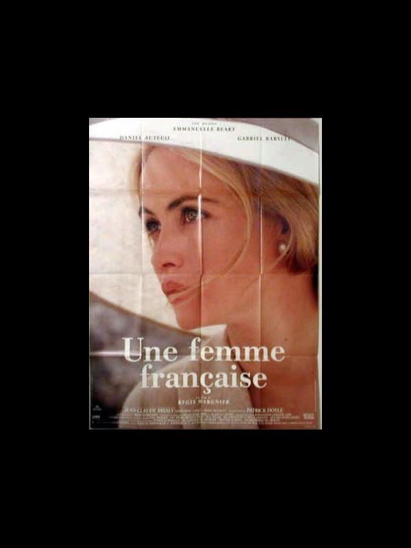 Affiche du film UNE FEMME FRANCAISE