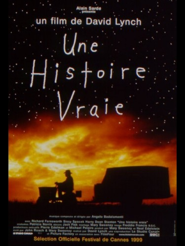 Affiche du film UNE HISTOIRE VRAIE - THE STRAIGHT STORY