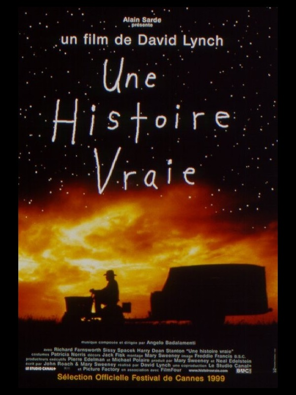Affiche du film UNE HISTOIRE VRAIE - THE STRAIGHT STORY