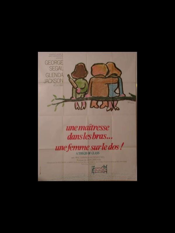 Affiche du film UNE MAITRESSE DANS LES BRAS …UNE FEMME SUR LE DOS !
