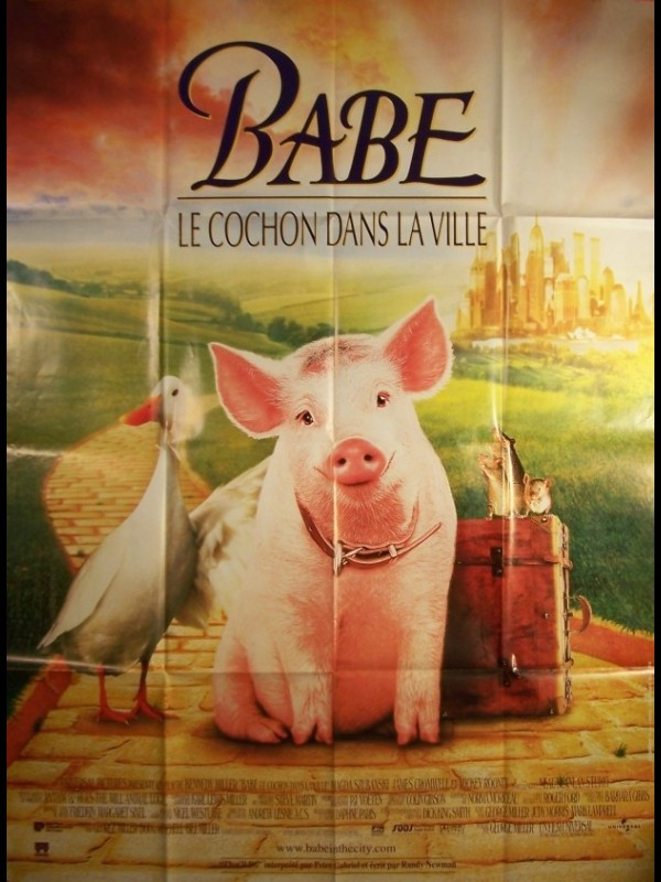 Affiche du film BABE -LE COCHON DANS LA VILLE-