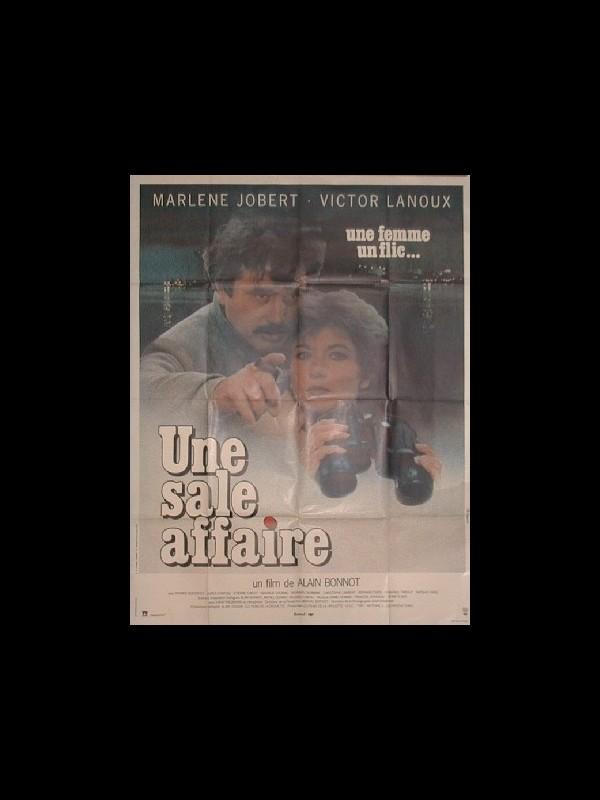 Affiche du film UNE SALE AFFAIRE