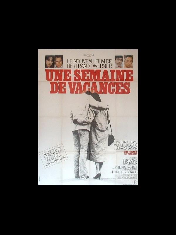 Affiche du film UNE SEMAINE DE VACANCES