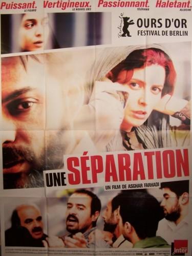 Affiche du film UNE SEPARATION - JODAEIYE NADER AZ SIMIN