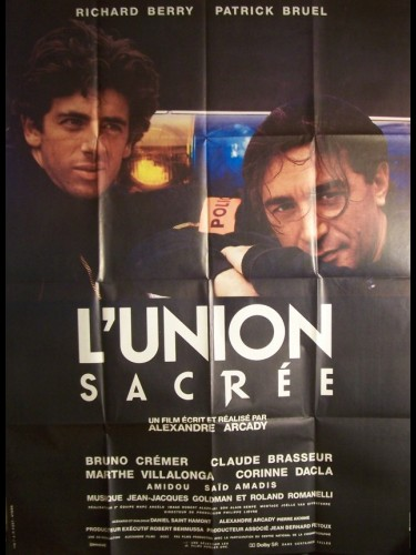 Affiche du film UNION SACREE (L')