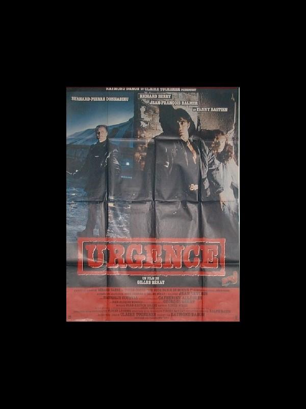 Affiche du film URGENCES
