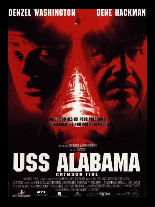 Affiche du film USS ALABAMA - ORIMSON TIDE