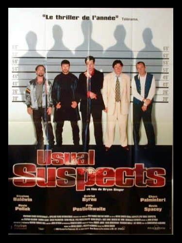 Affiche du film USUAL SUSPECTS