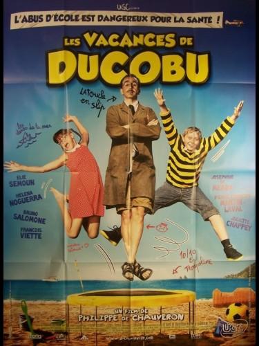 Affiche du film VACANCES DE DUCOBU (LES)