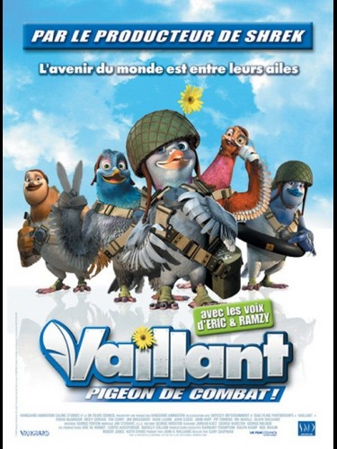 Affiche du film VAILLANT PIGEON DE COMBAT - VALIANT
