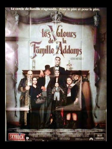 Affiche du film VALEURS DE LA FAMILLE ADAMS (LES) - ADDAMS FAMILY VALUES