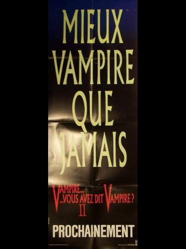 Affiche du film VAMPIRE…VOUS AVEZ DIT VAMPIRE 2 (A) - FRIGHT NIGHT PART 2