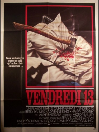 Affiche du film VENDREDI 13 - FRIDAY THE 13TH