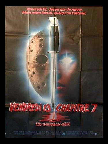 Affiche du film VENDREDI 13 CHAPITRE 7 - FRIDAY THE 13TH PART VII: THE NEW BLOOD