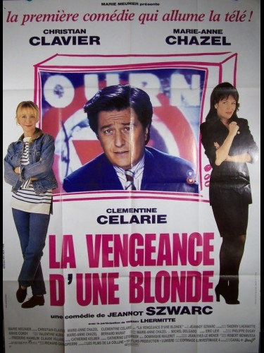 Affiche du film VENGEANCE D'UNE BLONDE (LA)