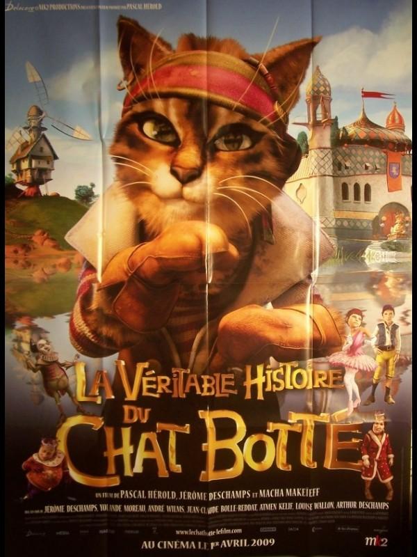 Affiche du film VERITABLE HISTOIRE DU CHAT BOTTE (LA)