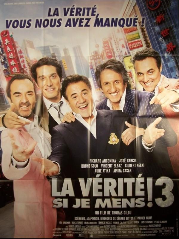 Affiche du film VERITE SI JE MENS 3 (LA)