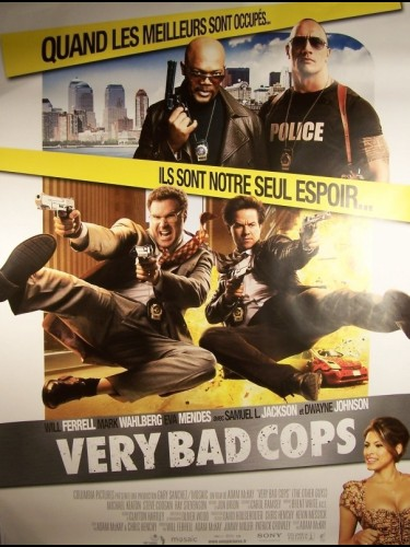Affiche du film VERY BAD COPS