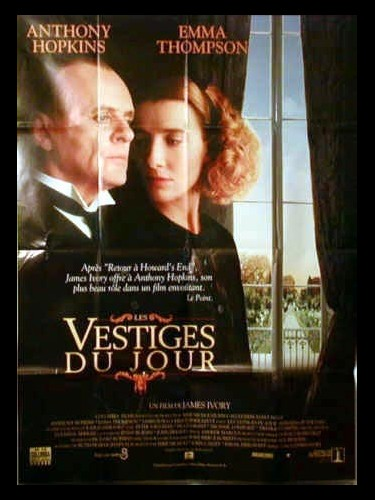 Affiche du film VESTIGES DU JOUR (LES) - THE REMAINS OF THE DAY