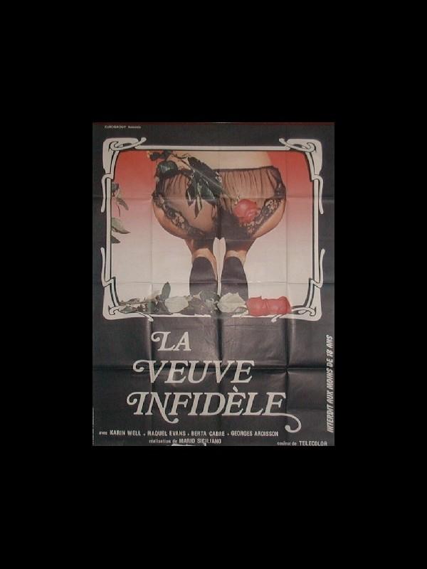 Affiche du film VEUVE INFIDELE (LA)
