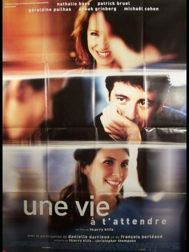 Affiche du film VIE A T'ATTENDRE (UNE)