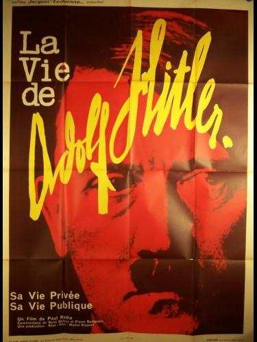 Affiche du film VIE DE ADOLF HITLER (LA) - DAS LEBEN VON ADOLF HITLER