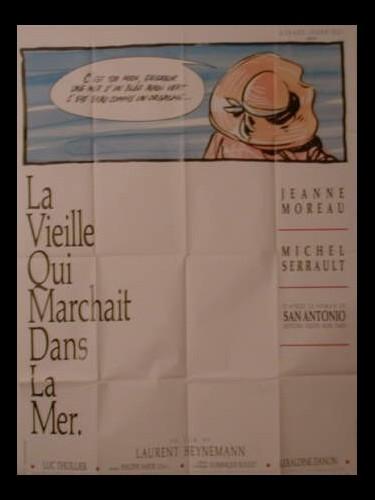 Affiche du film VIEILLE QUI MARCHAIT DANS LA MER (LA)