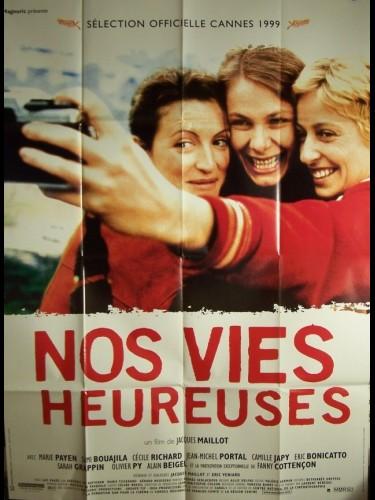 Affiche du film VIES HEUREUSES (NOS)